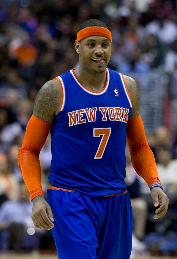 Carmelo Anthony (Keith Allison/Flickr)
