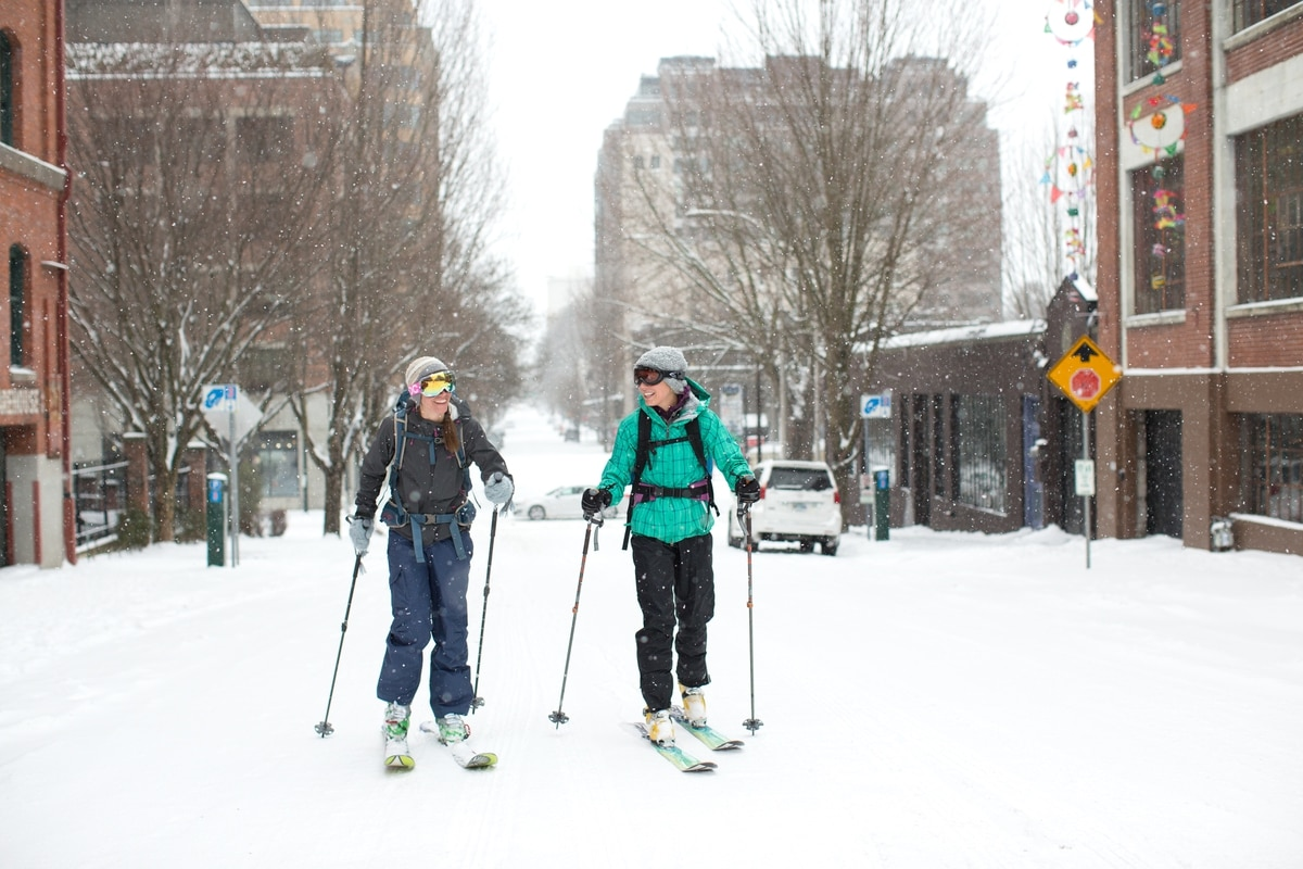 It's Snowing in Portland, Which Means a Bunch of Weird Stuff Is About to Go Down
