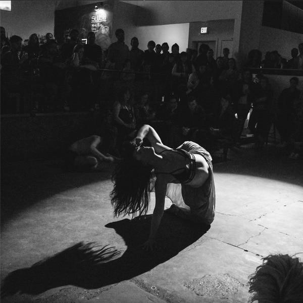 Anna Rudinsky, a dancer at Muddy Feet Contemporary