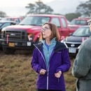 Oregon Gov. Kate Brown visits the Chetco Bar Fire in 2017. (Office of the Governor)