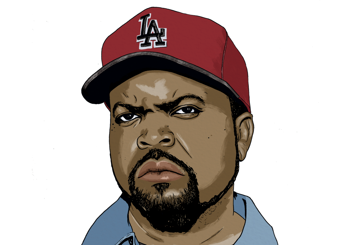 ice cube is one of rap 39 s original gangsters but he is also one of hip hop 39 s most unconventional. Black Bedroom Furniture Sets. Home Design Ideas