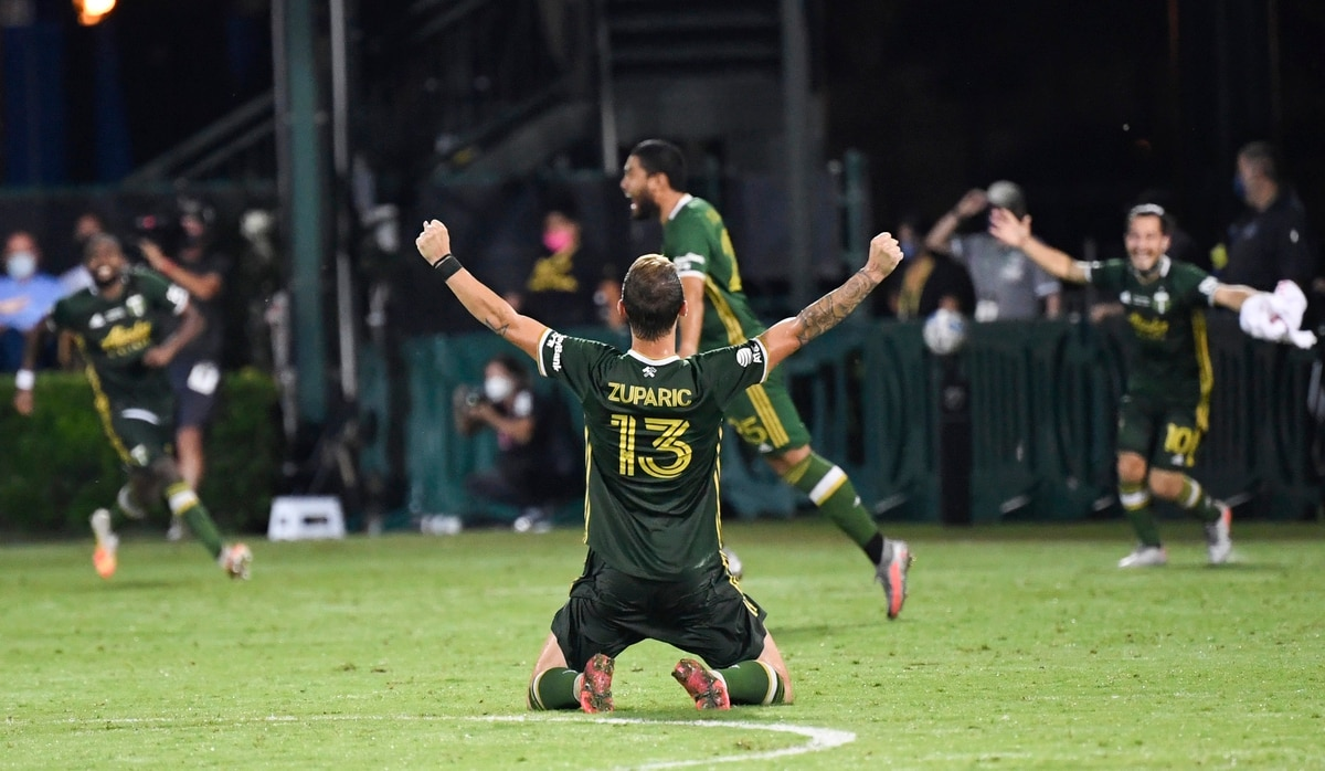 The Portland Timbers Have Won The Mls Is Back Tournament Beating Analysts Odds Willamette Week