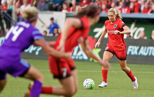 Allie Long (Courtesy Thorns FC)
