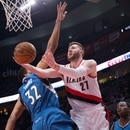 Trail Blazers face the Minnesota Timberwolves on March 25, 2017. Bruce Ely / Trail Blazers