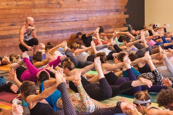 Todd Vogt – photo from Yoga Union Facebook