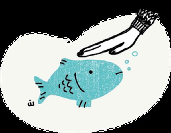Should I pet my fish? (Jason Walton) (@Waltoons)