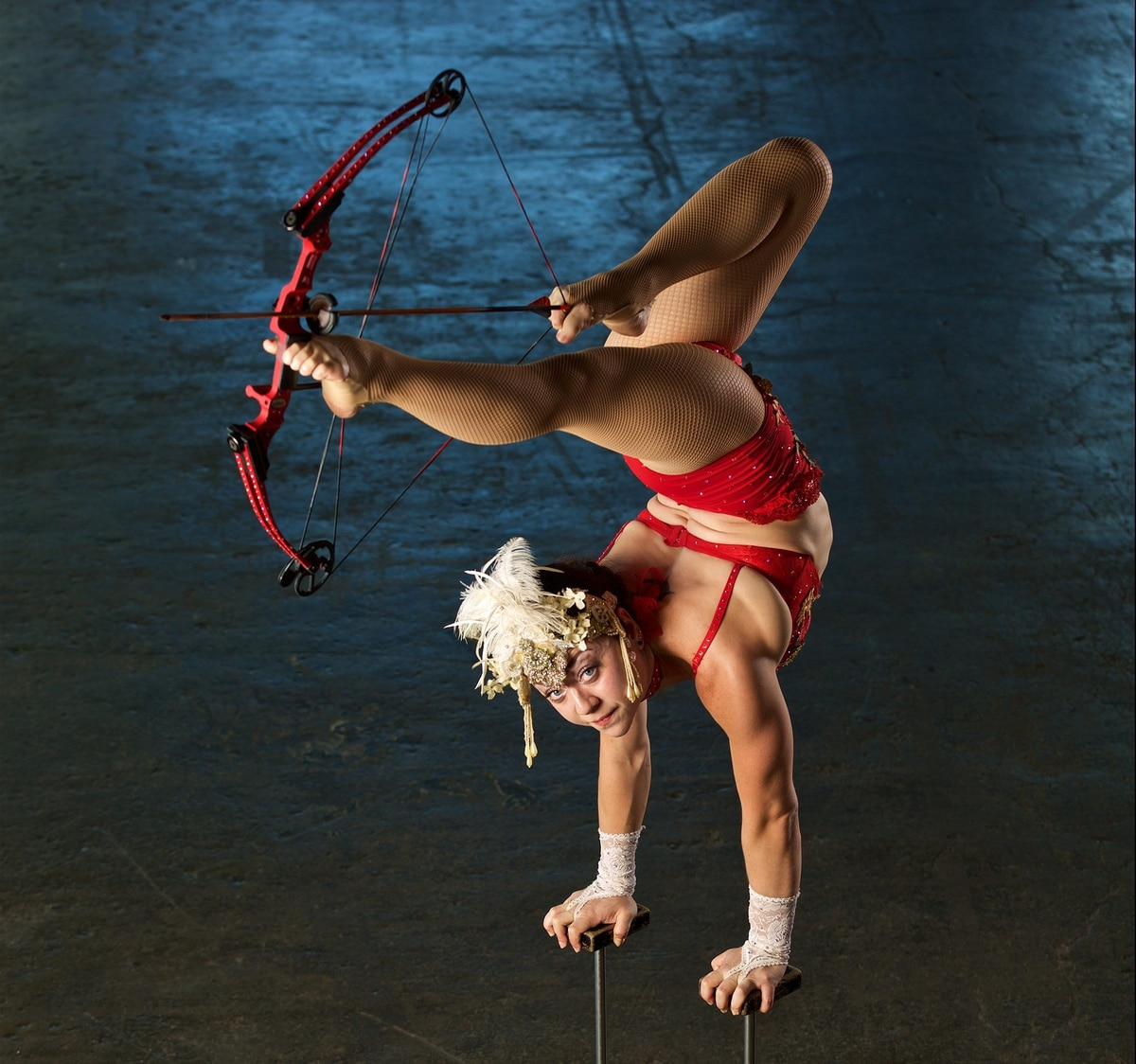 "You Can Learn Circus Acrobatics with Portland's World Record-Holding ""Foot Archer"" as Part of a New Airbnb Program"