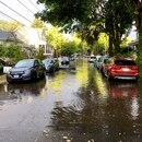 Flooding Sept. 12 in Kerns. (Paul Burdick / Flickr)