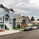Six units on a single lot in Northeast Portland. (Wesley Lapointe)