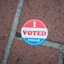 Sticker in Pioneer Courthouse Square (Joe Glode)
