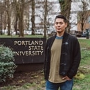 Ezra Whitman raised complaints about a PSU grad-school project, and his professor threatened to flunk him. (photo by CJ Montserrat)