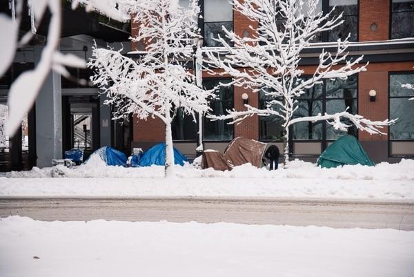 Portland snowstorm on Jan. 11, 2017. (Joe Riedl)