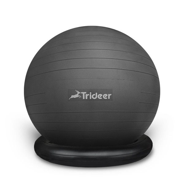 Finally, a subtle stand that holds the ball in place without a clunky base. (Amazon)