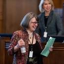 Oregon Senate Majority Leader Ginny Burdick. (Justin Katigbak)