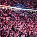 Portland Trail Blazers fans in the Moda Center on April 23, 2019. (Sam Gehrke)