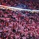 Portland Trail Blazers fans in the Moda Center on April 23, 2019. (Sam Gehrke)