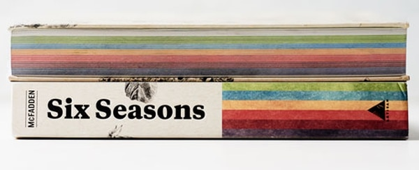 Six Seasons is handily and adorably color-coded by season. (Joshua McFadden)