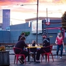 Many Portland restaurants, such as Taqueria Nueve, reopened last week with outdoor dining. All must close by 10 pm. (Brian Burk)
