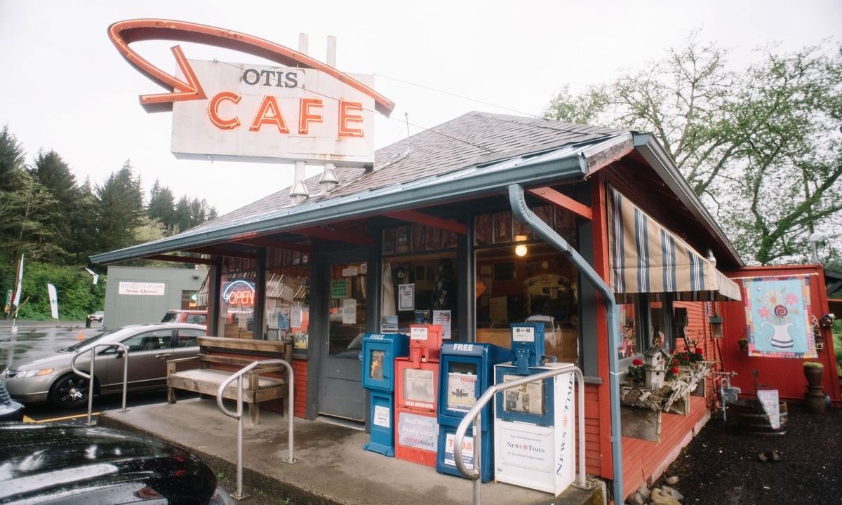 Iconic Oregon Coast Roadside Diner Otis Cafe Caught Fire on