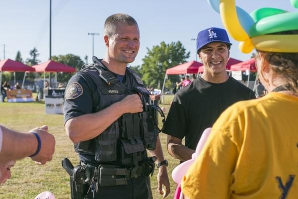 Portland Police Officer Jason Jones (Maya Setton)
