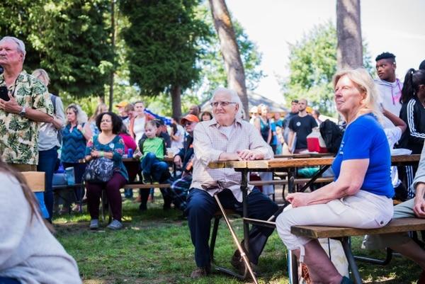 The Northwest Oregon Labor Council AFL-CIO Labor Day picnic at Oaks Park. (Justin Katigbak)