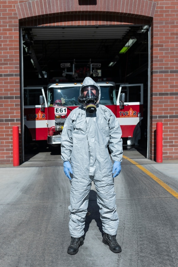 Matt Laas, 50, is a firefighter and paramedic at Tualatin Valley Fire & Rescue with 25 years on the job. (Wesley Lapointe)