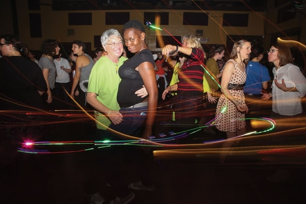 "RESPECT AND ADMIRATION: Inferno dance party hosts a ""Femme Appreciation"" night at Bossanova Ballroom. (Christine Dong)"