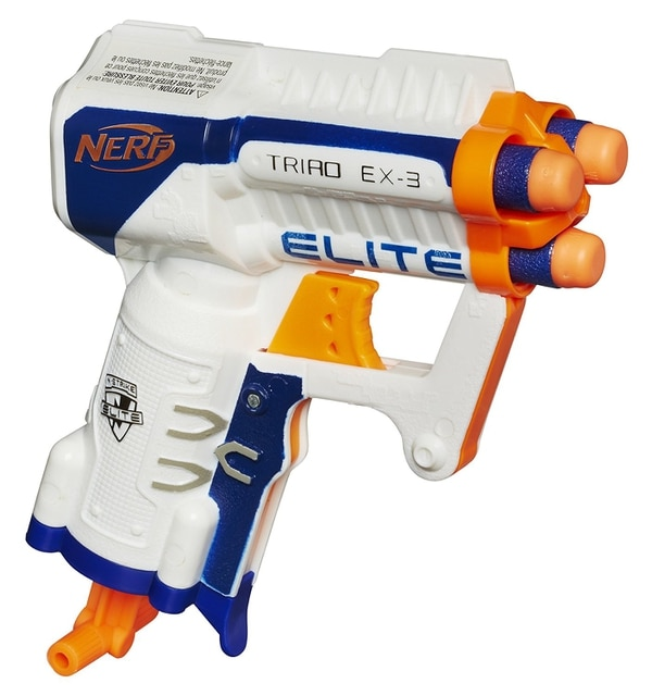 No joke, this thing is lethal. (Nerf)