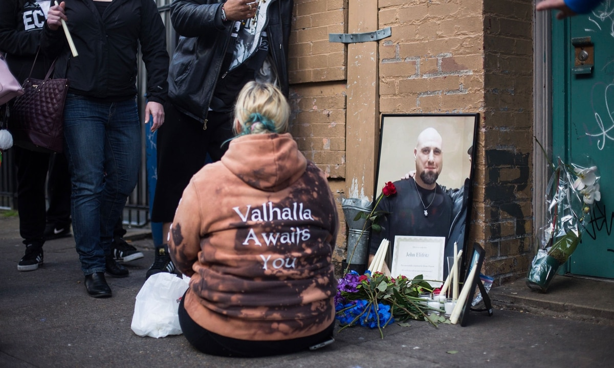 Man Killed By Portland Police Had Been A Member of White