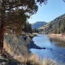 Crooked River near Prineville Resevoir. (Shannon Gormley)