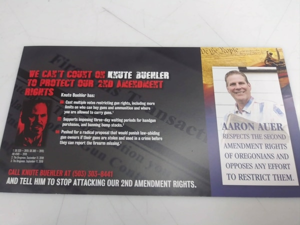 Attack ad on Buehler