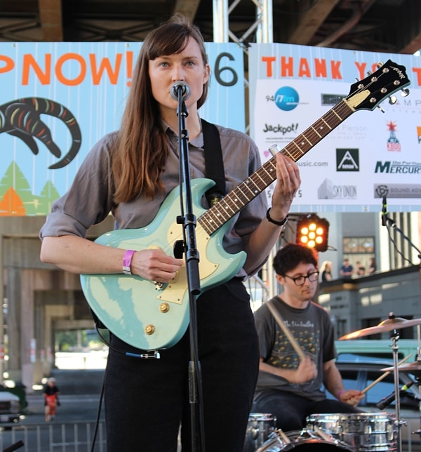 Lithics at PDX Pop Now 2016. IMAGE: Clifford King.