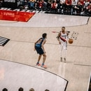 Damian Lillard in Game 5. (Sam Gehrke)