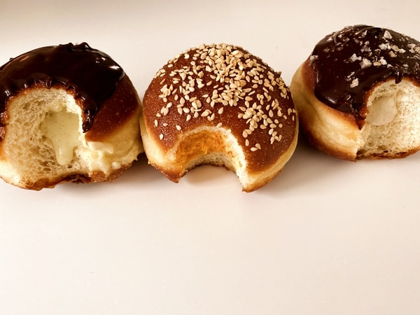 Fills Donuts are Berliner-style filled pastries.