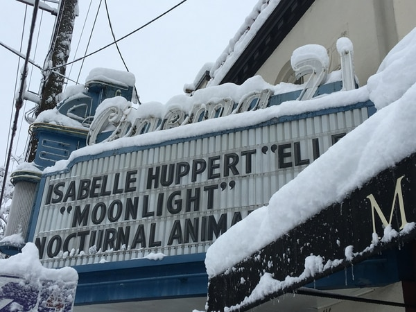 Portland snowstorm on Jan. 11, 2017. (Aaron Mesh)