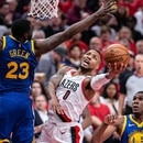 Trail Blazers face the Golden State Warriors in the Western Conference Finals on May 20, 2019. IMAGE: Bruce Ely / Trail Blazers.
