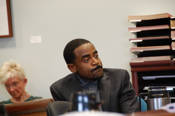 Charles McGee in Multnomah County Circuiy Court on March 14, 2019. (Aimee Green, The Oregonian/Oregonlive.com)