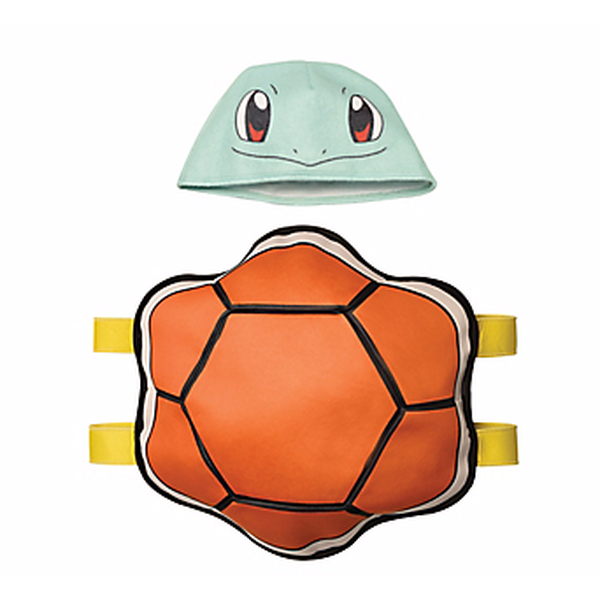 Squirtle costume from Party City (WARNING: CHOKING HAZARD – Small parts. Not for children under 3 years.)