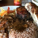Jerk chicken at Yaad Style Jamaican Cuisine
