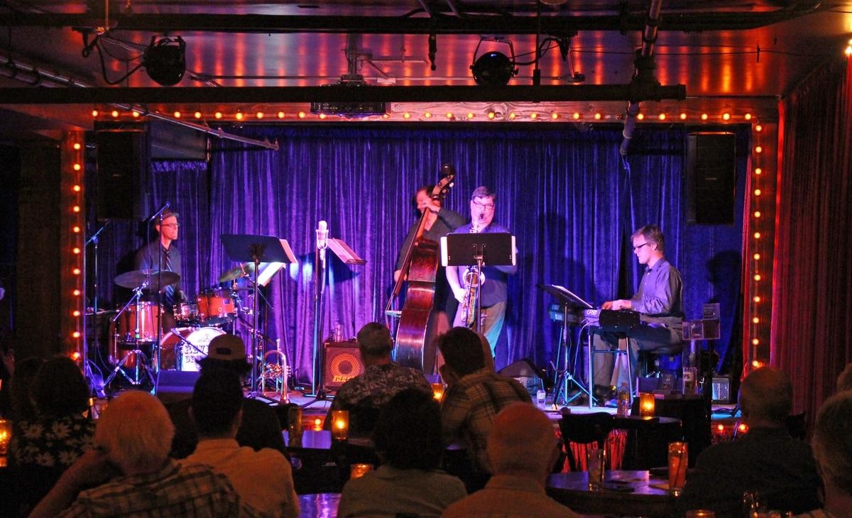 The Rialto's Basement Jack London Jazz Club Is Like A