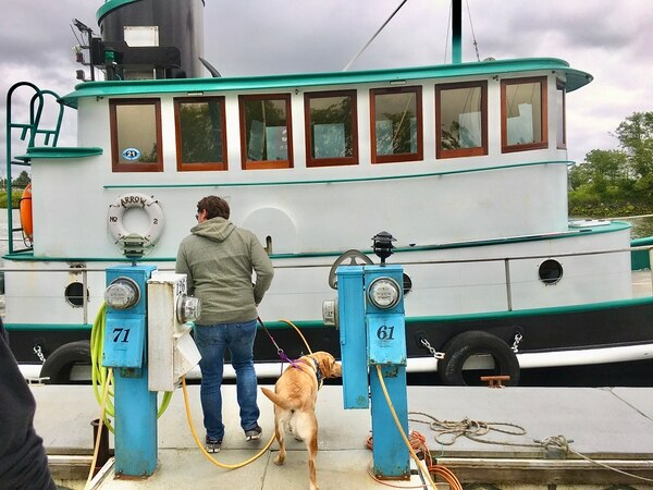 Arrow No. 2 carried bar and river pilots for 50 years. Now you can ride it on sightseeing tours. Photo by Andi Prewitt.