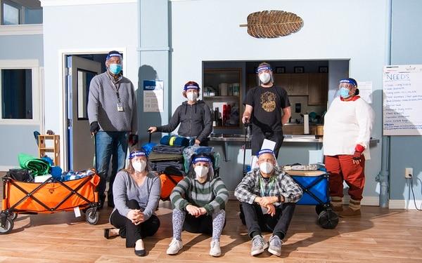 The outreach crew at Cascadia Behavioral Health Care. (Thomas Teal)