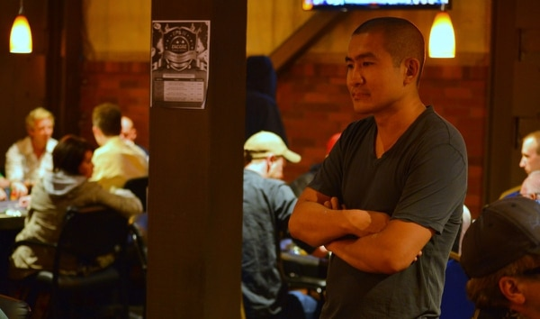 John Ogai in 2014 at Encore Poker Club.