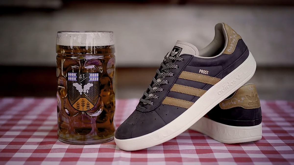 Stop What You're Doing: Adidas Made Beer-Proof Shoes for Oktoberfest