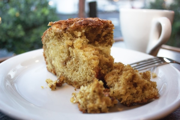 Oui Presse's coffee cake. IMAGE: WW Staff.
