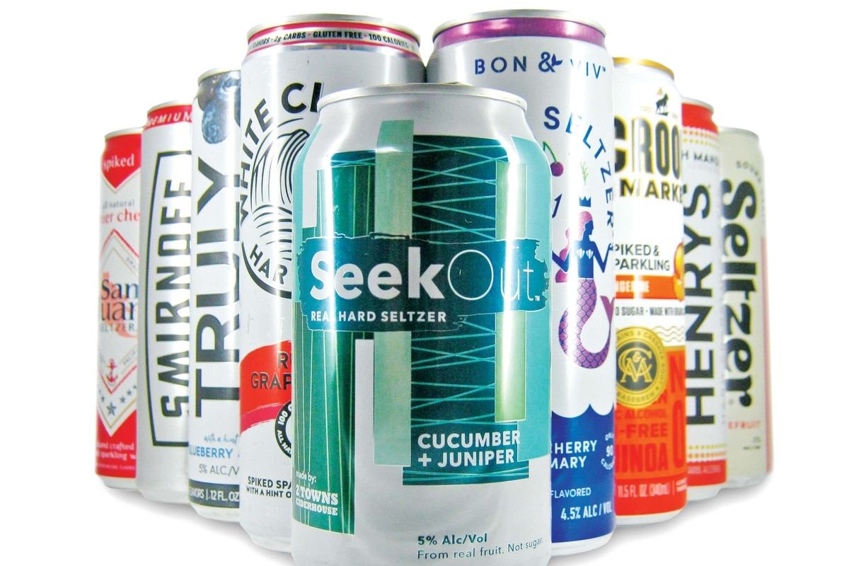 Hard Seltzer Is the Drink of the Summer  We Put Nine Brands