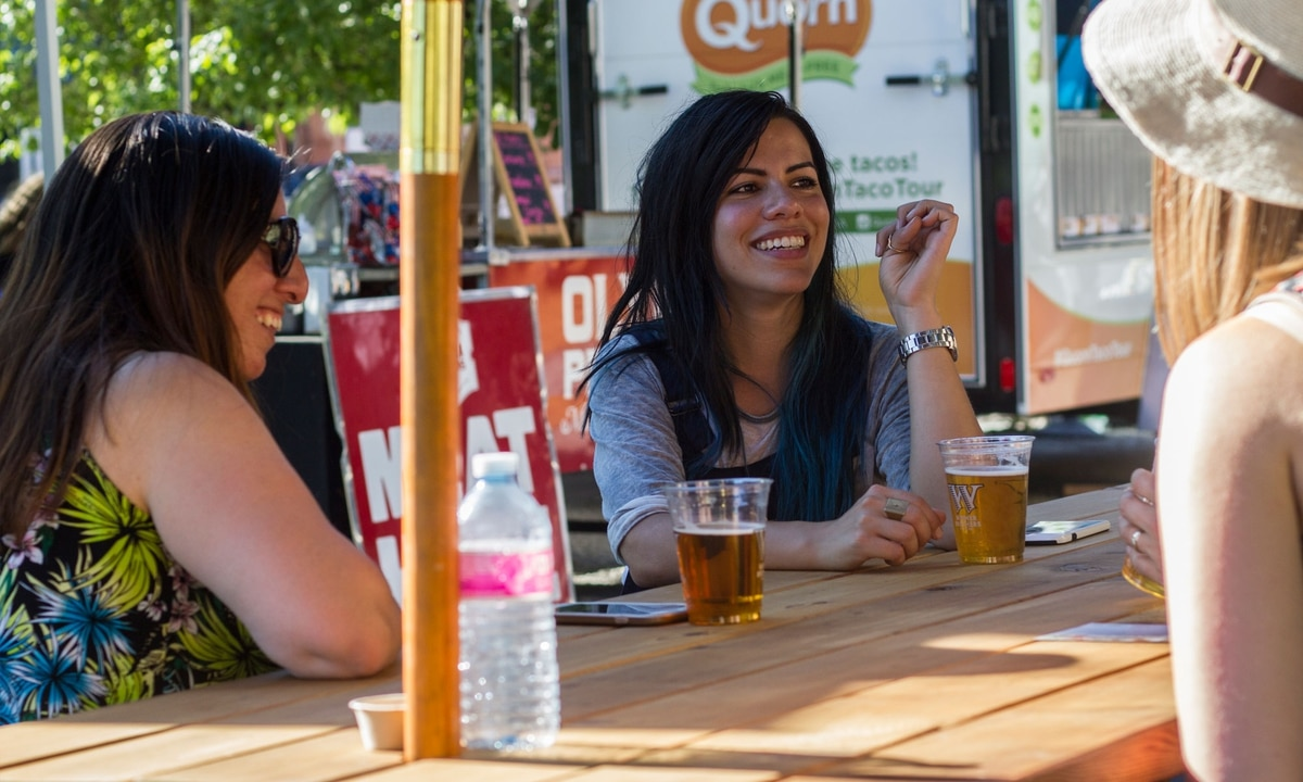 The Awesome New Widmer Beer Garden Should Be A New Portland Tradition Willamette Week