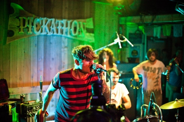 Thee Oh Sees at Pickathon 2012. IMAGE: Dylan Vanweelden.