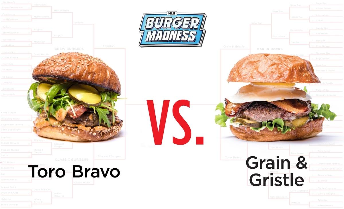 burger madness final four bar burger vs bistro burger