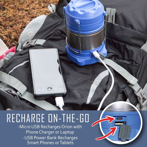 A multitasking survival light that illuminates and charges. (Amazon)